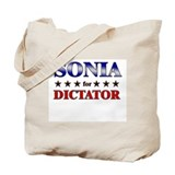 SONIA for dictator Tote Bag