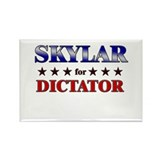 SKYLAR for dictator Rectangle Magnet