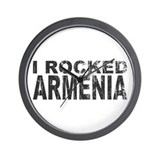 I Rocked Armenia Wall Clock