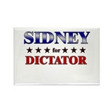 SIDNEY for dictator Rectangle Magnet (10 pack)