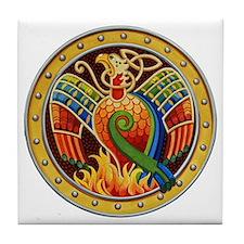 Celtic Phoenix Tile Coaster