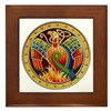Celtic Phoenix Framed Tile