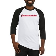 Environmentalist (sporty red) Baseball Jersey