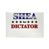 SHEA for dictator Rectangle Magnet (10 pack)