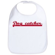 Dog catcher (sporty red) Bib