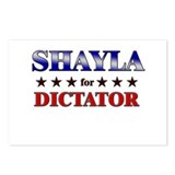 SHAYLA for dictator Postcards (Package of 8)