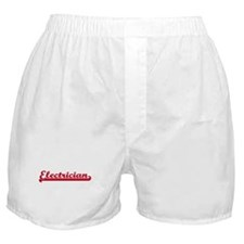 Electrician (sporty red) Boxer Shorts