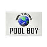 World's Greatest POOL BOY Rectangle Magnet (10 pac