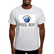 World's Greatest POOL BOY T-Shirt