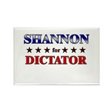 SHANNON for dictator Rectangle Magnet