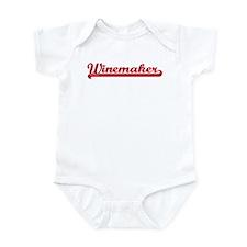 Winemaker (sporty red) Infant Bodysuit