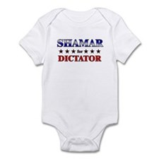 SHAMAR for dictator Infant Bodysuit