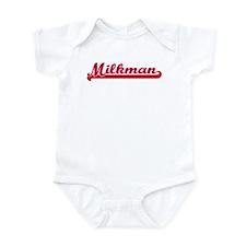 Milkman (sporty red) Infant Bodysuit