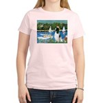 Sailboats / Eng Springer Women's Light T-Shirt