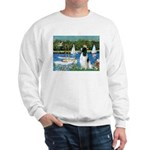 Sailboats / Eng Springer Sweatshirt
