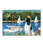 Sailboats / Eng Springer Postcards (Package of 8)