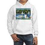 Sailboats / Eng Springer Hooded Sweatshirt