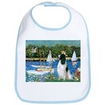 Sailboats / Eng Springer Bib