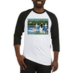Sailboats / Eng Springer Baseball Jersey