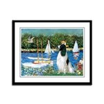 Sailboats / Eng Springer Framed Panel Print