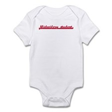 Midwifery student (sporty red Infant Bodysuit