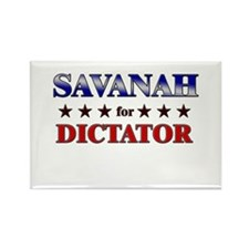 SAVANAH for dictator Rectangle Magnet