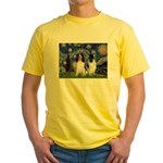 Starry / 2 Eng Springe Yellow T-Shirt