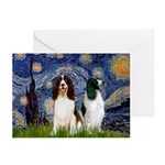 Starry / 2 Eng Springe Greeting Cards (Pk of 10)