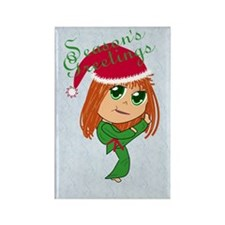 Martial Arts Holiday Spirit Rectangle Magnet
