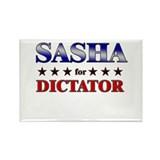 SASHA for dictator Rectangle Magnet