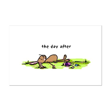 The Day After Easter Mini Poster Print