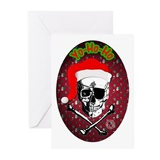 Pirate Christmas Greeting Cards (Pk of 10)