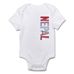 Nepal Stamp Infant Bodysuit