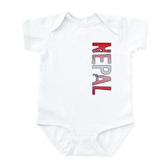 Nepal Stamp Infant Bodysuit