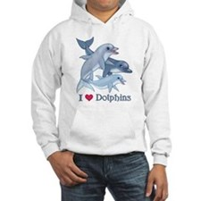 Dolphin Family and Text Jumper Hoody