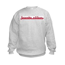 Security officer (sporty red) Sweatshirt