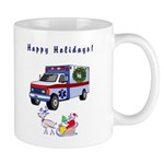 EMS Happy Holidays Greetings Mug