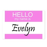 Evelyn Postcards (Package of 8)