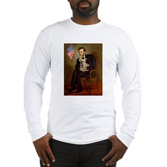 Lincoln/French Bulldog Long Sleeve T-Shirt