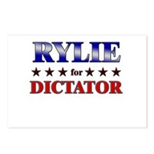 RYLIE for dictator Postcards (Package of 8)