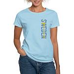 Sweden Stamp Women's Light T-Shirt