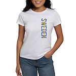 Sweden Stamp Women's T-Shirt