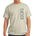 Sweden Stamp Light T-Shirt