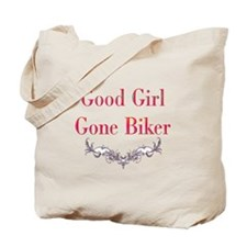 Good Girl Gone Biker-2 Tote Bag