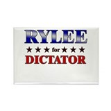 RYLEE for dictator Rectangle Magnet