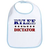 RYLEE for dictator Bib
