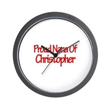 Proud Nana of Christopher Wall Clock
