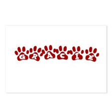 Gracie Paw Prints Postcards (Package of 8)