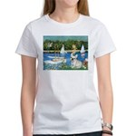 Sailboats / Fr Bulldog(f) Women's T-Shirt
