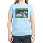 Sailboats / Fr Bulldog(f) Women's Light T-Shirt